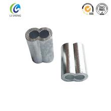 Hourglass cable sleeve aluminium
