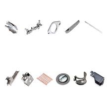 Contact électrique à ressort d'emboutissage en métal