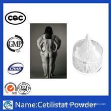 Fabricação profissional Perda de peso em pó 99% cetilistat esteróide