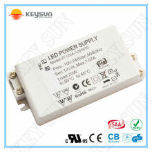 electronic led transformer 12v 20w, led driver 12v 20w, 20w driver 24v for led strip light
