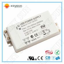 Transformador eletrónico 12v 20w, driver led 12v 20w, driver 20w 24v para luz de tira led