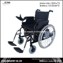2016 Lightweight Aluminum Folding Lithium Battery Power Electric Wheelchair