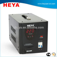Single phase 220v ac relay control 5kva household voltage guard with input voltage 80-260v