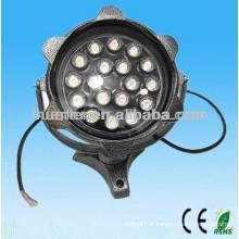 AC100-240V imperméable à l'eau ip65 12w 18w projecteur led haute puissance