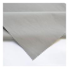 Shirt Fabric Grey Cloth 2020 Fashion Weft Elastic Lattice Brocade Cotton 100% Polyester Woven Plain Dyed Garment GRAY QUICK-DRY