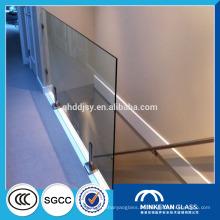 bestpreis 10mm dicke gehärtetem glas zaunplatten für verkauf