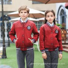 OEM Factory Customized Western High Quality Winter School Uniform