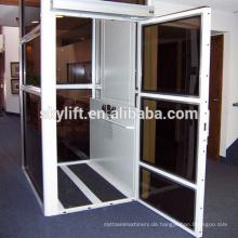 CE hydraulische kleine Haus Aufzug mit Kabine
