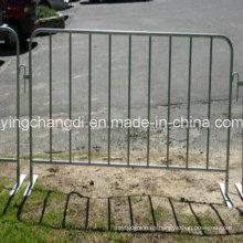 Direct Factory utilizó la barrera de control de multitud de acero galvanizado en caliente DIP