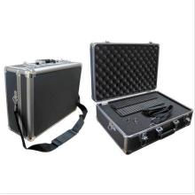 Caja de aluminio personalizable de un solo hombro de alto grado