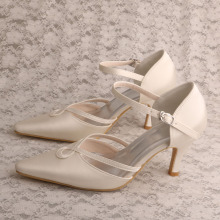 Mother of The Bride Cream Schoenen Bruiloft