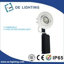 Calidad certificación 6W COB cortafuego LED DownLight