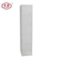 KD metal 5 tier locker cinco portas armários