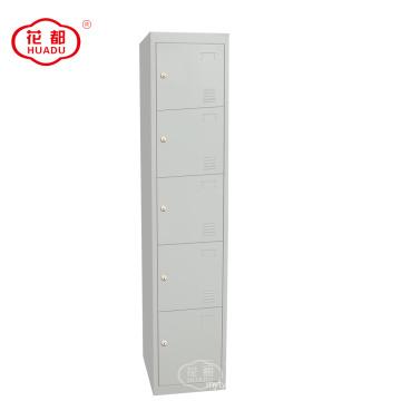 KD metal 5 tier locker five doors lockers