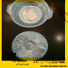 TB Disposable Aluminum Foil Plates For Air Line/ Restaurant/ Hotel/ Bakery