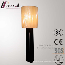 Antique Black Wooden Large Floor Lamp for Hotel Project