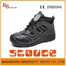 Стильные ботинки безопасности с хорошим качеством натуральной кожи RS893