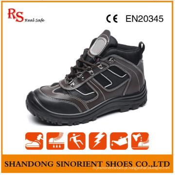 Sapatos de segurança elegante com boa qualidade couro genuíno RS893