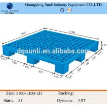 1111 HDPE almacenamiento color plástico plataforma barata
