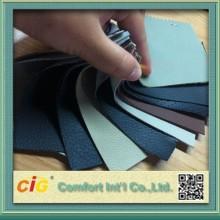 Cuero sintético del PVC para el sofá para asiento de coche