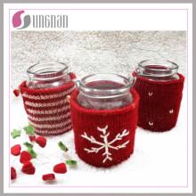 2015 Moda de Navidad Knitted Mug Cup Sleeve