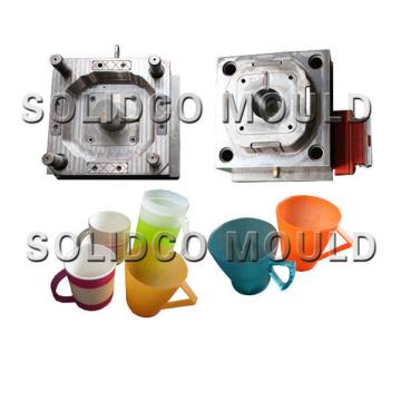 Plastic injection jug mould mug mould cap mold