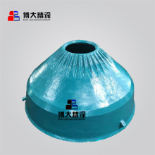Metsos hp200 cone crusher spare parts bowl liner