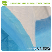 Disposable with SAP absorbent surgical underpad