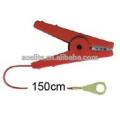 clips fuertes de cocodrilo de cerca eléctrica, cable de conexión, cable de salida para cinta de cerca eléctrica