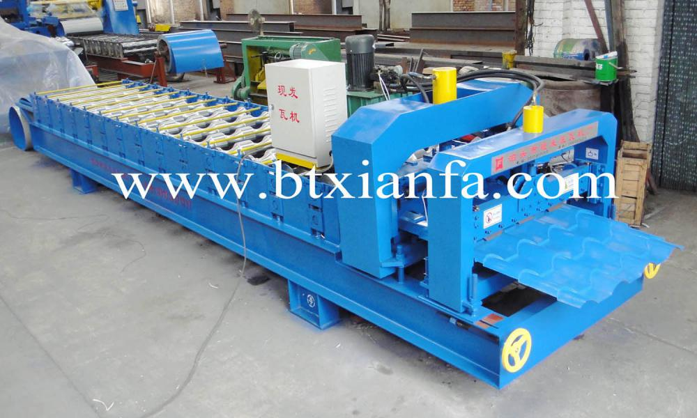 steel tile forming machine 3