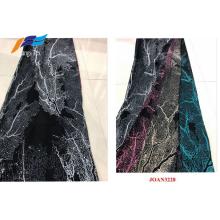 Polyester Digital Printed Black Abaya Veil Clothing Fabrics