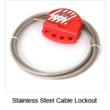 Verrouillage du câble en acier réglable