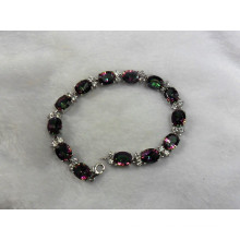 Мода браслет серебряный Мистик кварц ювелирные изделия (BR0025)