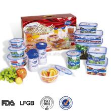 armazenamento de alimentos, microondas PP conjunto recipiente de alimentos