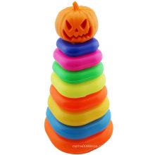 Anel De Retenção De Halloween Pumpkin Folding Jenga Toy