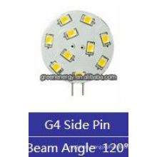 wafer G4 10leds 1.5W 12V AC/10-30V DC side pin/back pin