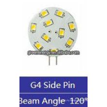 вафельные 10ledы в G4 1.5 Вт 12В AC/10-30В постоянного тока боковой штырь/штырь обратно