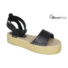 Frauen-Causal-Plattform Espadrille-Sandale