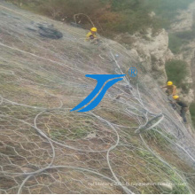 Ts-High Safety avec des filets de barrière de montagne