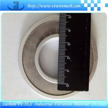 Maille de disque de filtre de bord recouverte d'acier inoxydable