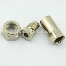 Oem cnc machining precious metals part with plating and high quality