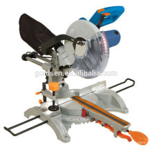 """254mm 10"""" 1800W Aluminum Cut Off Slide Compound Miter Saw Eectric Power Laser Cut Wood Saw"""