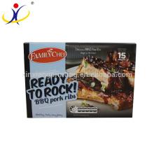 ISO9001: 2008 Vente chaude personnalisé impression alimentaire qualité alimentaire boîte emballage