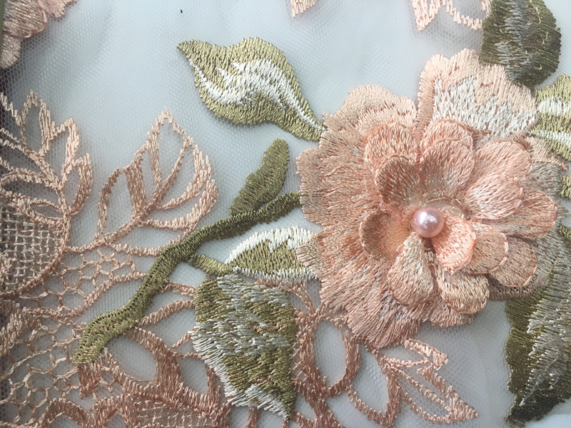 Peral Embroidery Fabric
