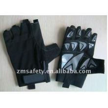 Sure Grip Half finger Pro Biker Glove With Silicon Printing HYB04
