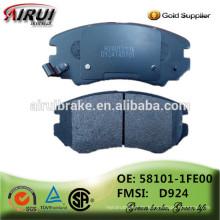 China Bremsbeläge Fabrik, Auto Teile (OE: 58101-1FE00 / FMSI: D924)