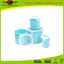 Recipiente Crisper plástico portátil