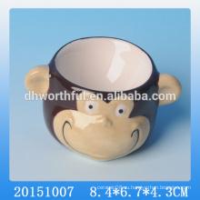 2016 Высокое качество милые обезьяны керамические яйцо Кубок