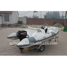 ce white rib430 sport inflatable boat luxury yacht