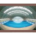 Prefab Stahl Space Frame für Schwimmbad Dachdeckung